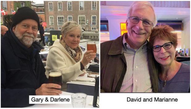 Gary & Darlene, David and Marianne